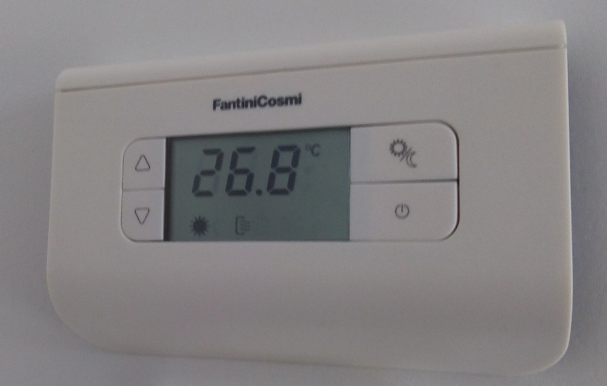 installation d'un thermostat radio pour gainable zone control lg